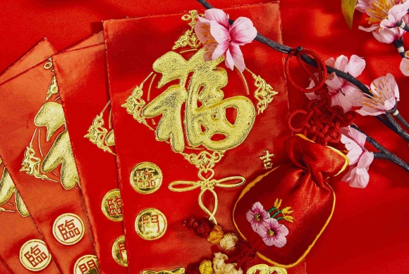 Get a 2019 Chinese New Year Lucky Red Envelope Gift from Central City, Surrey, BC