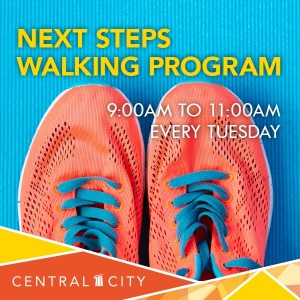 Next Steps Walking Program, Central City, Surrey, BC