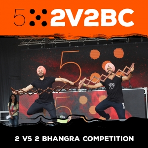 2V2 Bhangra Competition, Central City, Surrey, BC