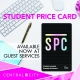 Student Price Card 2019-2020, Central City, Surrey