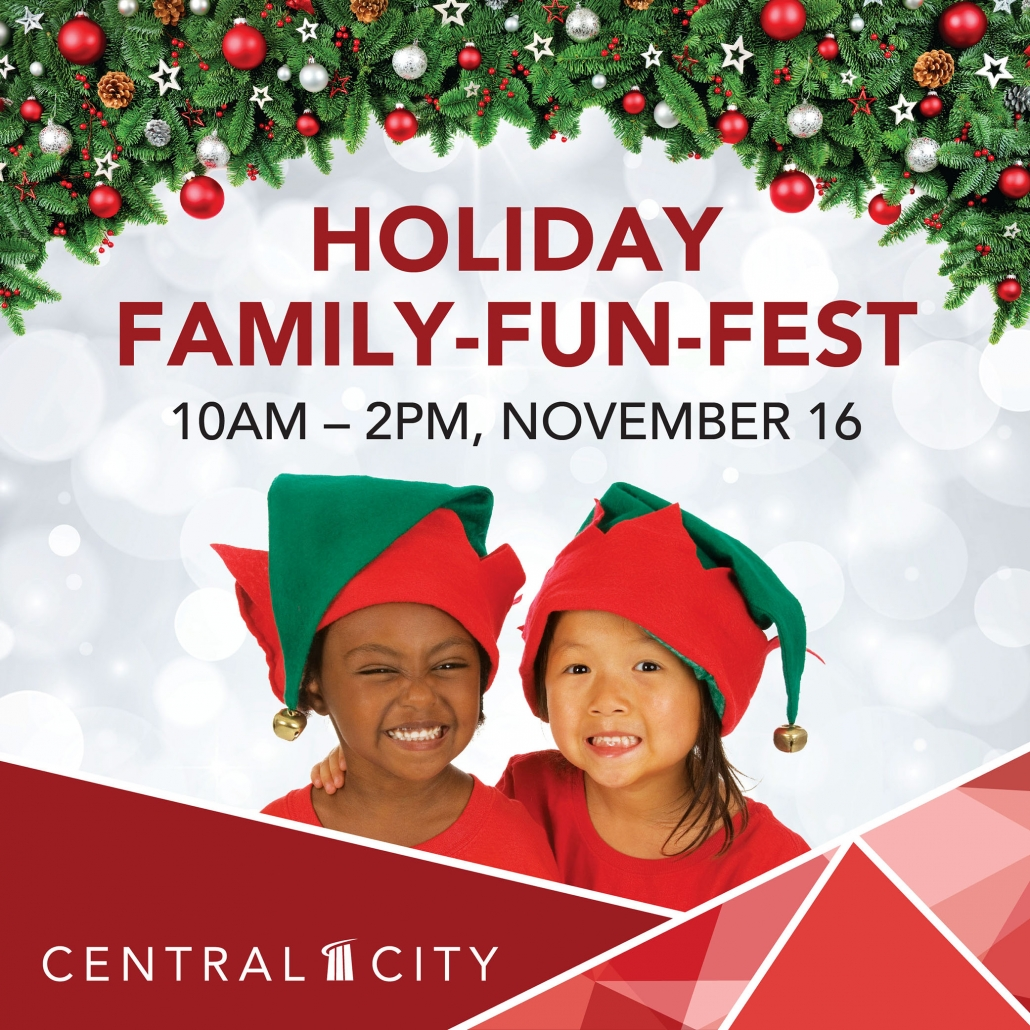 Holiday Family-Fun-Fest, Central City, Surrey, BC