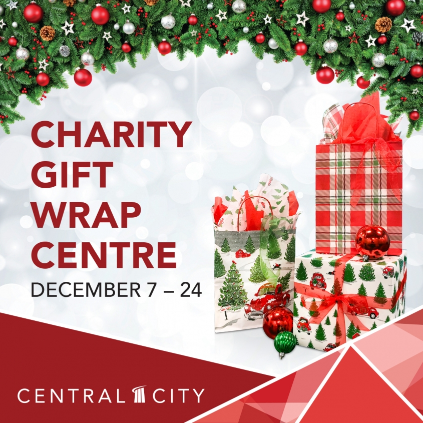 Charity Gift Wrap Centre, Central City, Surrey, BC