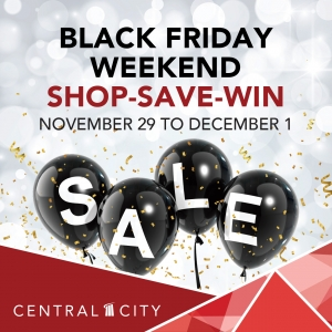 Black Friday Weekend, Central City, Surrey, BC